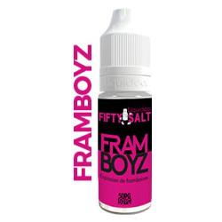 E-Liquide Fifty Framboyz au sel de nicotine