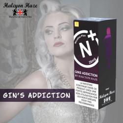 Gins Addiction- Halcyon Haze Nicotine Plus