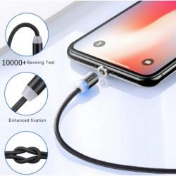 Cable Magnetique 2 en 1 (Type C / Micro USB)