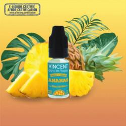 E-liquide - Ananas de Vincent dans les Vapes 10ml
