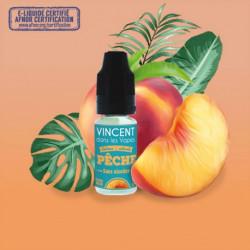 E-liquide - Pêche de Vincent dans les Vapes 10ml