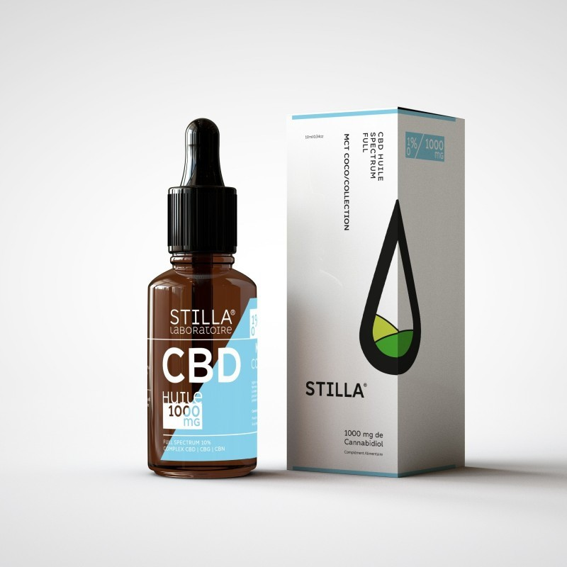 30% CBD OG Booster Stilla 10ML - Laboratoire Stilla