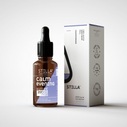 Huile de CBD BIO CALM/EVENING 10% 1000mg en 10ML - Laboratoire Stilla