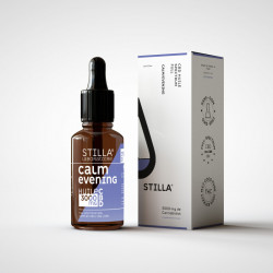 Huile de CBD BIO CALM/EVENING 20% 2000mg en 10ML - Laboratoire Stilla