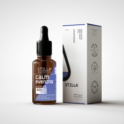 Huile de CBD BIO CALM/EVENING 30% 3000mg en 10ML - Laboratoire Stilla