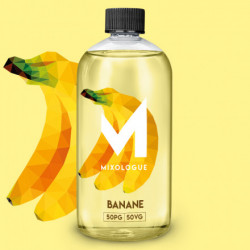 E- Liquide Saveur Banane- Mixologue-30ml