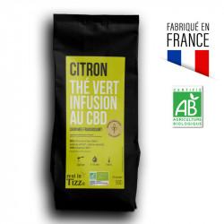 Le vanille-fraise - Thé Rooibos Bio Infusion au CBD by Tizz®
