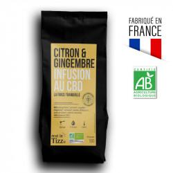 Thé Orange Sanguine Thé vert - Bio Infusion au CBD by Tizz®