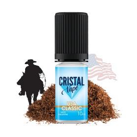 E-liquide USA classic - Cristal vape