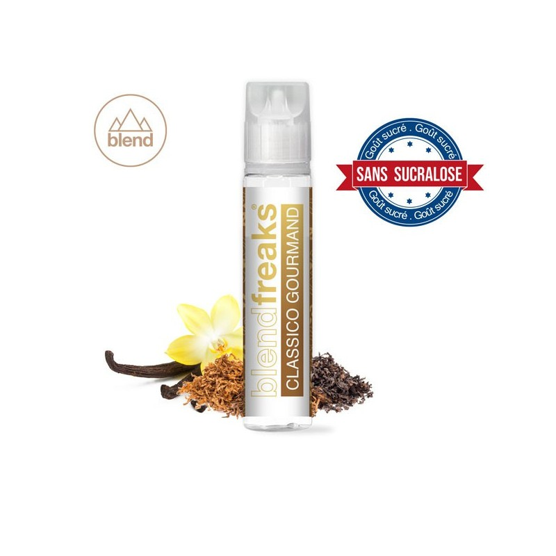 E-liquide Classico Gourmand en 50ml - Blend Freaks