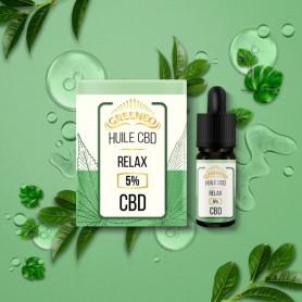HUILE CBD RELAX en 10 ml-GREENEO