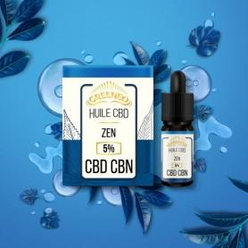 Huile de CBD Zen en 10 ml-GREENEO