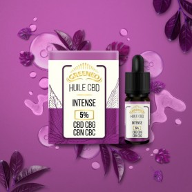 Huile de CBD Intense en 10ml-Greeneo